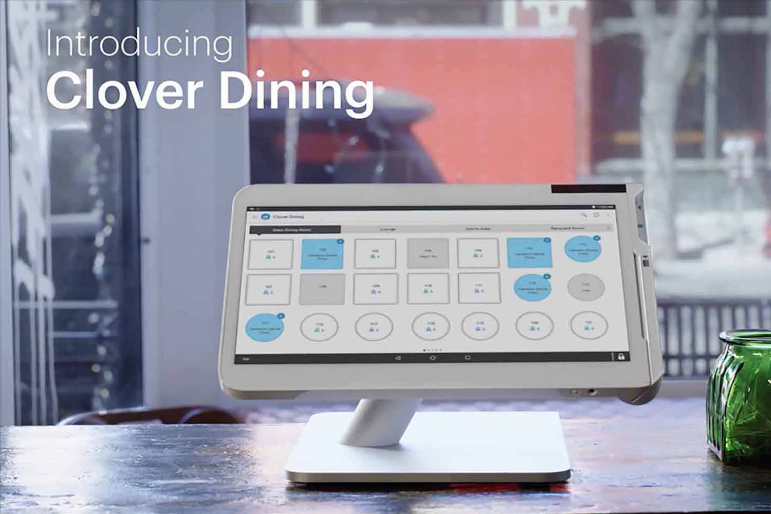 pic of the clover dining app